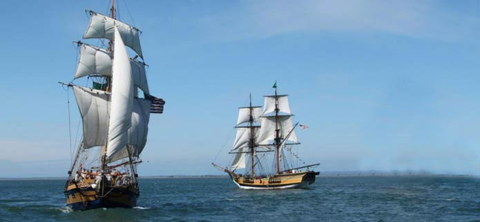 Historic Tall Ships Are Back in Coos Bay in July!