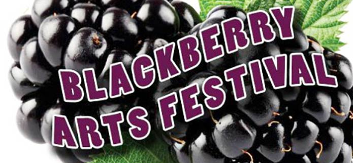 Celebrate Art, Culture & Delicious Blackberries at the 2017 Blackberry Arts Festival