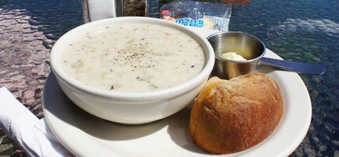 Where Can I Find the Best Clam Chowder on Oregon's Adventure Coast?