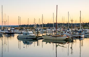 The Marina in Charleston, Oregon