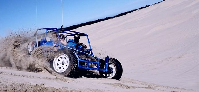 Dune Buggy Excitement in the Oregon Dunes