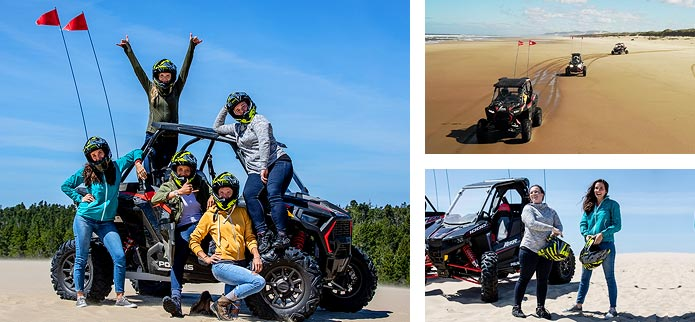 ATV'ing in the Oregon Dunes National Recreational Area