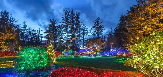 Share Your Shore Acres Holiday Photos for a Chance to Win an Oregon Coast Getaway- #CoosBayHoliday