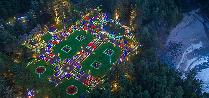 Book Your Trip for the 2018 Shore Acres Holiday Lights!