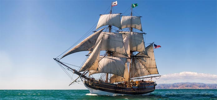Lady Washington Scheduled to Sail Into to Coos Bay in October!