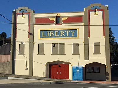 The Liberty Theatre on Oregon's Adventure Coast