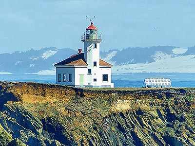 Lighthouse on Oregon's Adventure Coast
