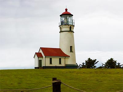 Breathtaking Lighthouse on the Oregon Coast