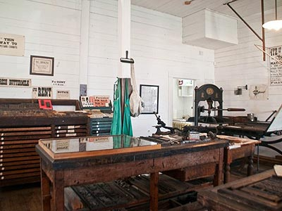 The Marshfield Sun Printing Museum