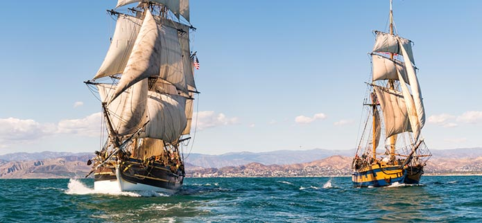 Lady Washington & Hawaiian Chieftain Tall Ships - REVISED SCHEDULE